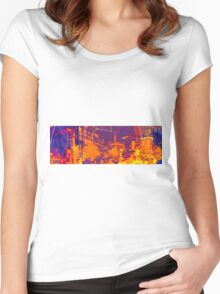 Manchester Women's Fitted Scoop T-Shirt