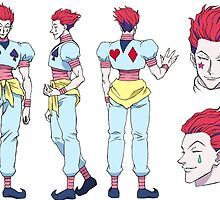 Hisoka Hunter x Hunter by azzamnur