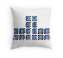 TETRIS COLLECTION Shape B Throw Pillow