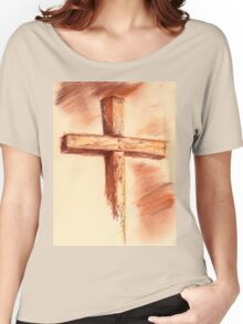 conte cross Women's Relaxed Fit T-Shirt