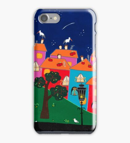 The night before the birth iPhone Case/Skin