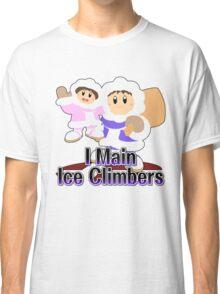 I Main Ice Climbers - Super Smash Bros Melee Classic T-Shirt