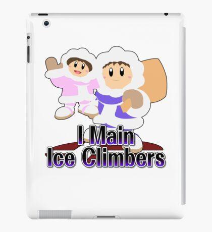 I Main Ice Climbers - Super Smash Bros Melee iPad Case/Skin