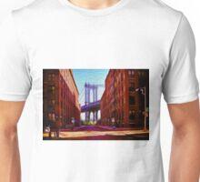 Down under Manhattan Bridge overpass Unisex T-Shirt