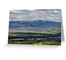 Jackson Hole, Wyoming Greeting Card