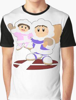 Ice Climbers- Super Smash Bros Melee Graphic T-Shirt