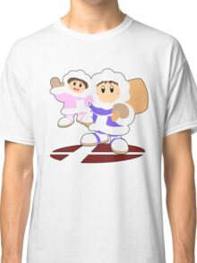 Ice Climbers- Super Smash Bros Melee Classic T-Shirt