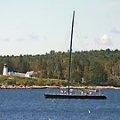 Boothbay Harbor Cruise by Jack Ryan