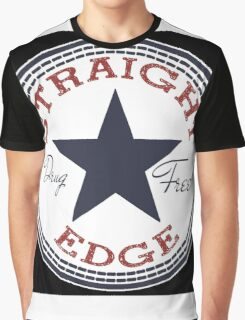 Staight Edge All Star Graphic T-Shirt