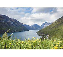Mountain Lake Photographic Print