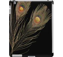 Abstract Peacock feathers iPad Case/Skin