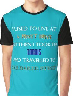 British mashup Graphic T-Shirt