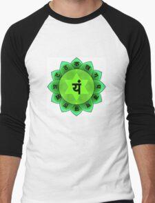 Beautiful Spiritual Mandala Men's Baseball ¾ T-Shirt
