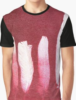 Abstract Feathers Graphic T-Shirt
