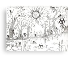 The Enchanted Forest Canvas Print