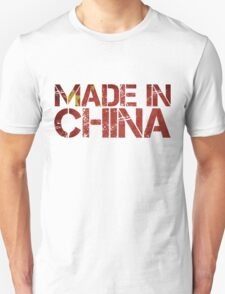 China Chinese Flag Made in T-Shirt