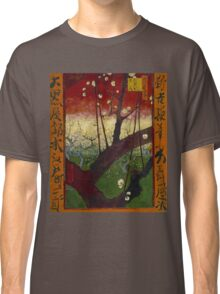 Vincent Van Gogh - Flowering plum orchard after Hiroshige, 1887 Classic T-Shirt
