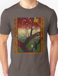 Vincent Van Gogh - Flowering plum orchard after Hiroshige, 1887 Unisex T-Shirt