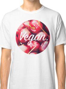 Vegan. - Cherry Circle Classic T-Shirt