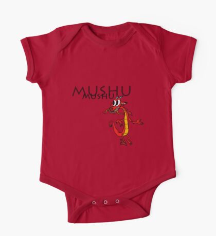 Mushu [with name] One Piece - Short Sleeve