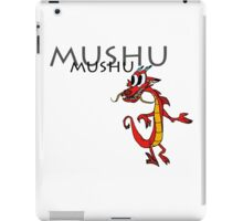 Mushu [with name] iPad Case/Skin