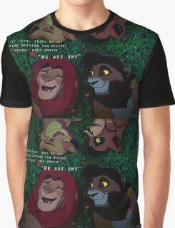 TLK We Are One Simba Kovu Lion King Graphic T-Shirt