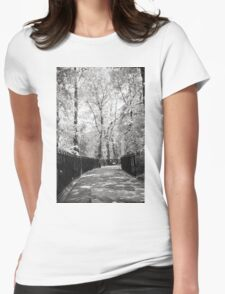 Walk With Me Down These Streets I Know Womens Fitted T-Shirt