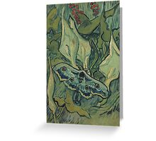 Vincent Van Gogh - Giant Peacock Moth, 1889 Greeting Card