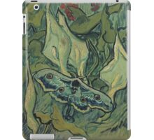 Vincent Van Gogh - Giant Peacock Moth, 1889 iPad Case/Skin