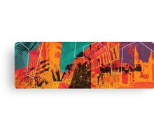 I live in the city Canvas Print