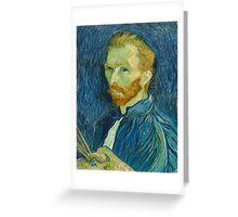 Take a walk, do like Van Gogh  Greeting Card