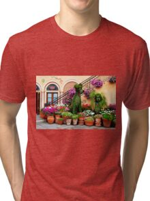 Canines in Love, EPCOT's Flower and Garden Festival Tri-blend T-Shirt