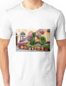 Canines in Love, EPCOT's Flower and Garden Festival Unisex T-Shirt