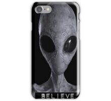 I want to Believe Alien iPhone Case/Skin