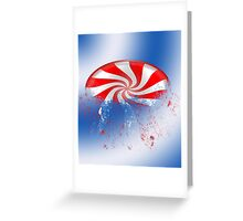 Candy Crushed Greeting Card