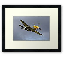 North American P-51D Mustang 'Ferocious Frankie' Framed Print