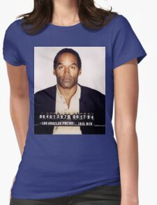 O.J. Simpson Womens Fitted T-Shirt