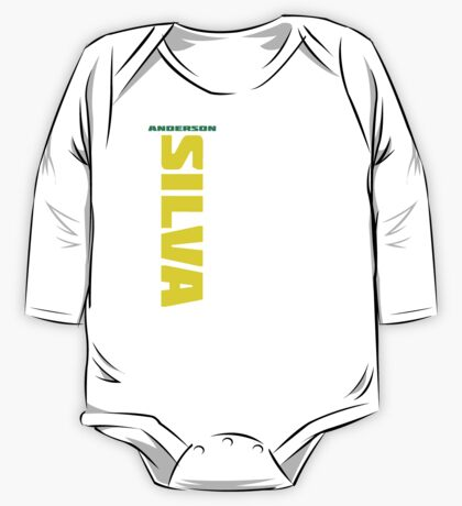 Anderson Silva Yellow & Green - Front One Piece - Long Sleeve