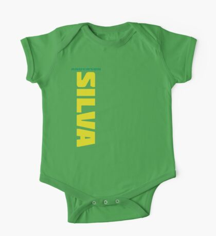 Anderson Silva Yellow & Green - Front One Piece - Short Sleeve