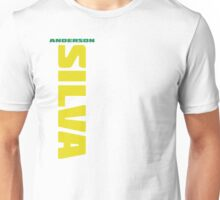 Anderson Silva Yellow & Green - Front Unisex T-Shirt