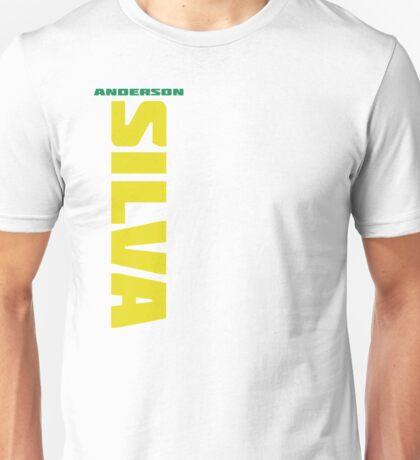 Anderson Silva Yellow & Green - Front Unisex T-Shirt