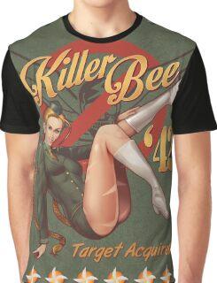 Killer Bee Pin Up Graphic T-Shirt