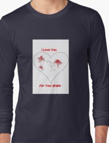 Zombie Love Long Sleeve T-Shirt