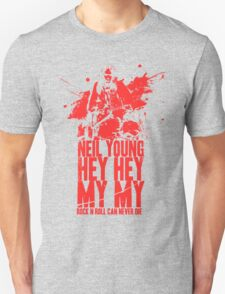 Neil Young Rock N Roll Can Never Die T-Shirt