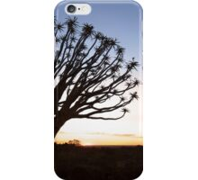 Leaning in the Last Light iPhone Case/Skin