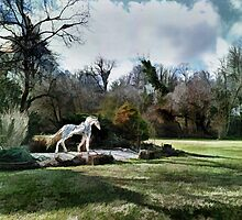Ghost Horse by Eileen McVey