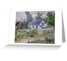 Vincent Van Gogh - Houses at Auvers, December 1885 - February 1886 Greeting Card