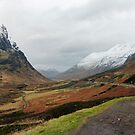 Glencoe Mountains, Scotland by trish725