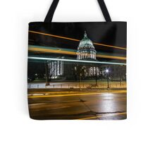 Capital streaks Tote Bag