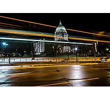 Capital streaks Photographic Print